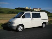 Volkswagon T4 Campervan, 5 seats good condition and great fun, fold out doublebed, cupboards, SWB