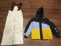 Kids ski/snow/winter jacket and salopette - 7/8 years old