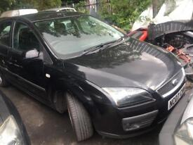 FORD FOCUS 1.6 TDCI ZETEC SPARES OR REPAIRS STARTS AND DRIVES DPF FAULT