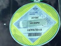 TOYOTA PRIUS PLUS HYBRID 7 SEATS PCO STICKER WARRANTED 51000 MILES WITH AUCTION SHEET, FRESH IMPORT