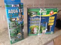 JBL Aqua Ex 45-70 gavel cleaner and ProFlora 160 Bio-CO2 160