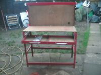 work bench for shed or garage