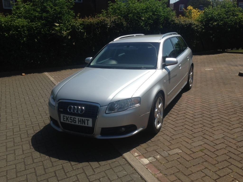 audi a4 s line 2 7 v6 tdi auto diesel 5dr 2006 56 silver in basildon essex gumtree. Black Bedroom Furniture Sets. Home Design Ideas