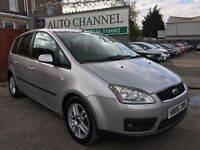 Ford Focus C-Max 1.6 TDCi Zetec 5dr£2,485 p/x welcome FREE WARRANTY. NEW MOT