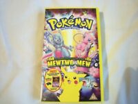 POKEMON THE FIRST MOVIE VHS TAPE ( STILL SEALED ) COLLECTOR'S ITEM
