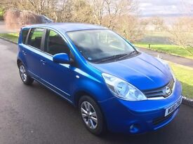 2010 Nissan Note ACENTA 1.6 only 22k mileage *Automatic *full service history