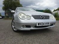04 MERCEDES C200 CDI SPECIAL EDITION 2.2 DIESEL COUPE,2 OWNERS 2 KEYS,FULL HISTORY,LOVELY CAR