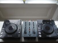 2x Pioneer cdj 1000 mk3 and Allen&Heath xone:22 Mixer