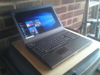 ** Now Sold ** Dell Precision M4800 i7 4th gen 16GB 250GB SSD 15in FHD 1080p Workstation / Laptop