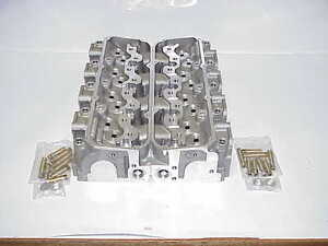 2 NEW Ford SVO M-6049-C3 Aluminum Bare Cylinder Heads NASCAR Roush Yates Racing