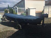 Trusty 12ft fishing boat