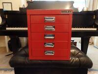 Bisley 5 drawer desktop cabinet