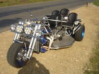 Custom Trike 2.3 V6 Auto. All Stainless Steel