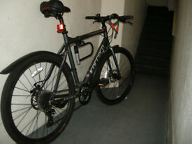 "CARRERA SUBWAY 1 Bike- 22"" Bicycle - with 2 U-locks, lights, mud guards, & more!"