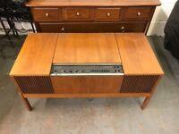 HMV record player - Vintage Retro stereogram radiogram turntable radio