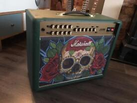 Marshall Custom Shop Tattoo JVM215 Guitar Combo Amp, Antony Flemming
