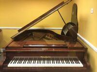 Bosendorfer Baby Grand Piano 1975. Beautiful Mahogany gloss. Lovingly cared for and maintained.