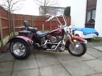 for sale my harley davidson 1340 cc flstc trike