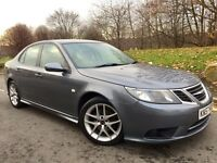 SAAB 9-3 1.9 TiD 150 VECTOR SPORT AUTOMATIC••NEW SHAPE••LEATHERS••SERVICE HISTORY