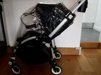 Bugaboo Bee 3 Black and footmuff in very good condition