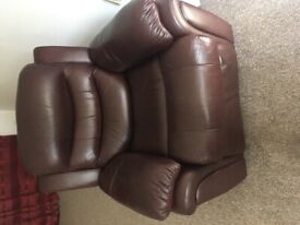 Single fully reclined chair £30 ono