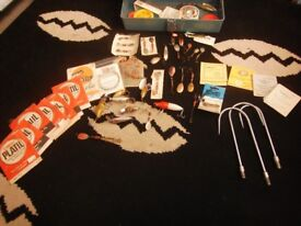 vintage fishing heddon lures and hooks ,line OFFERS see photo's