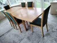 8/10 Seating dining table