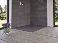 Brand New Matki Slate Effect Shower Floor (Tray)