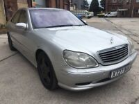 MERCEDES BENZ S CLASS S500 AMG, PETROL, AUTOMATIC, 302 BHP, HIGH SPEC, NICE CONDITION, DRIVES GREAT