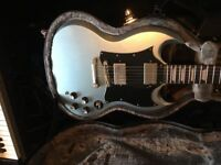 SWAP immaculate collectable Epiphone SG GUITAR and case for good BASS GUITAR