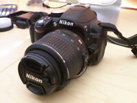 Nikon d3100 camera with macro lens -EXCELLENT CONDITION