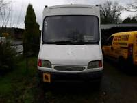 Ford transit camper project