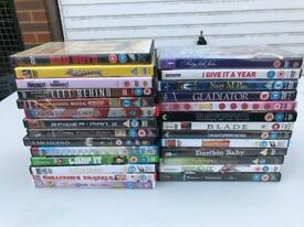 Big job lot DVD's/Board games/toy cars/books