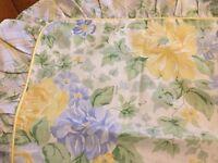 Floral Marks & Spencer single bed set
