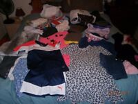 Huge bundle of girls clothes shoes and boots 9-10 years