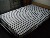 jaybee small double fold up bed used only twice very comfortable.