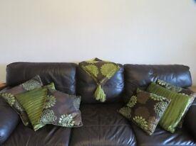 Beautiful Cushions and throw