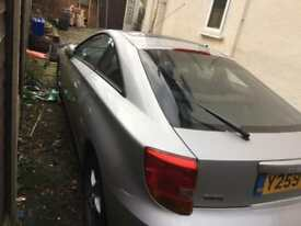 Toyota Celica Spares and repairs