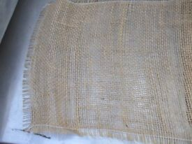 Vintage Shabby Chic Hessian Table Runners