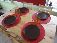 Dinning table & 4 chairs