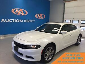 2016 Dodge Charger SXT AWD! SUNROOF! FINANCE NOW!