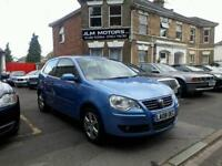 VOLKSWAGEN POLO 1.2 Match 60 3dr (blue) 2008