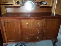 Antique kitchen sideboard