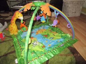 Fisher-Price Rainforest Melodies & Lights Deluxe Play Mat