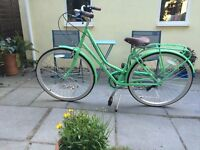 Claude Butler Ladies Bicycle Covent Garden Green 17""