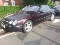 mercedes cl 500 v8 300bhp may px or swap?