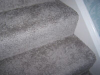 Silver grey with a sparkle carpet 8 x 10ft L shape new