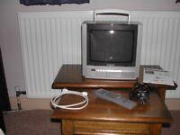 Panasonic TX-G10 Portable Colour Analogue Television & Set Top Box.