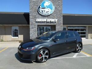 2015 Volkswagen Golf GTI AUTOBAHN! 17KM! FINANCING AVAILABLE