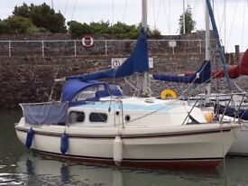 Westerly Pageant 23ft sailing yacht